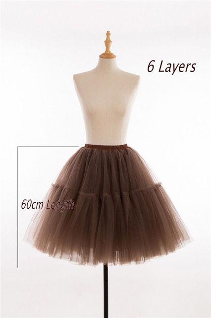 """26"""" Vintage Wedding Petticoat 50s Retro Underskirt Swing Rockabilly Fancy Net Tutu Skirt 1"""