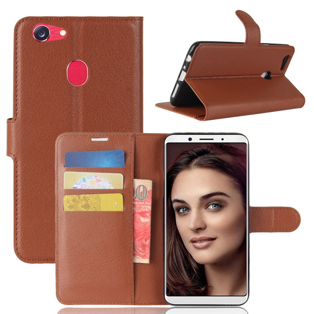 ASTUBIA For OPPO F5 Case Cover PU Leather Magnetic 360 Degree Full Protection Cover For OPPO F5 Flip Case For OPPO F5 Back Cover