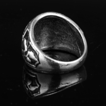 Attack on Titan Zinc Alloy Ring With Scouting corps Wings of liberty