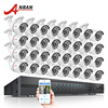 ANRAN 32CH HDMI 1080N DVR ADH Security Camera System 32pcs 720P 1800TVL IR Night Vison Outdoor