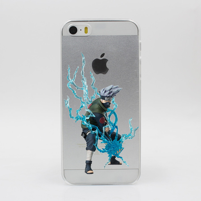 New Naruto Hard Transparent iPhone Case Cover