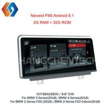 Android 8,1 штатную навигации для BMW F20 F21 F22 F23 EVO автомобиля Системы High-end качества gps черный сенсорный экран радио 30