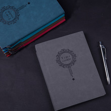 RuiZe kreatív irodai notebook A5 bőr vastag napló napirend tervező jegyzettömb tollal üzleti írószerek ajándék 120 lapos papír