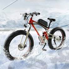 High quality electric bicycles, new tread grease, 48v350w, lithium batteries, electric bicycles, wide tires,26 * 4.0, snow, 15ah