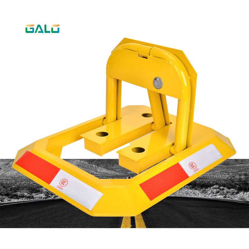 Manual Parking Barrier Parking Lock / Hand Operated No Parking Lok Bollard Post Parking Barrier Parking Lock Blocker Anti Park