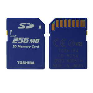 256MB Toshiba SD Card Class2 256MB SD Card Standard Secure SD Memory Card For Digital Cameras