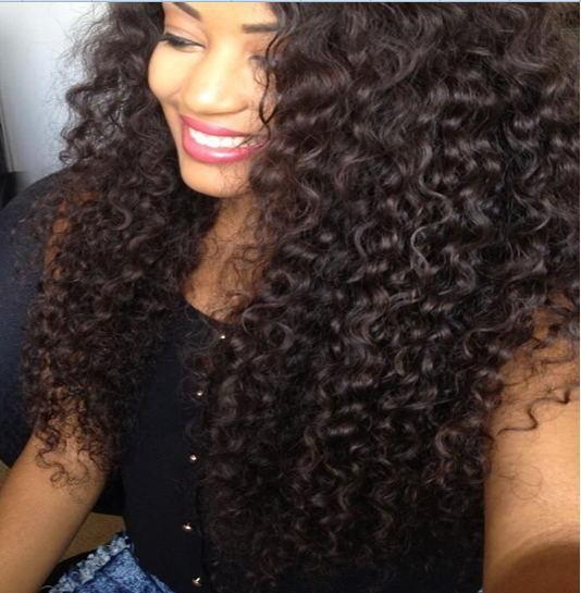 Brazilian Jerry Curl Virgin Hair Afro