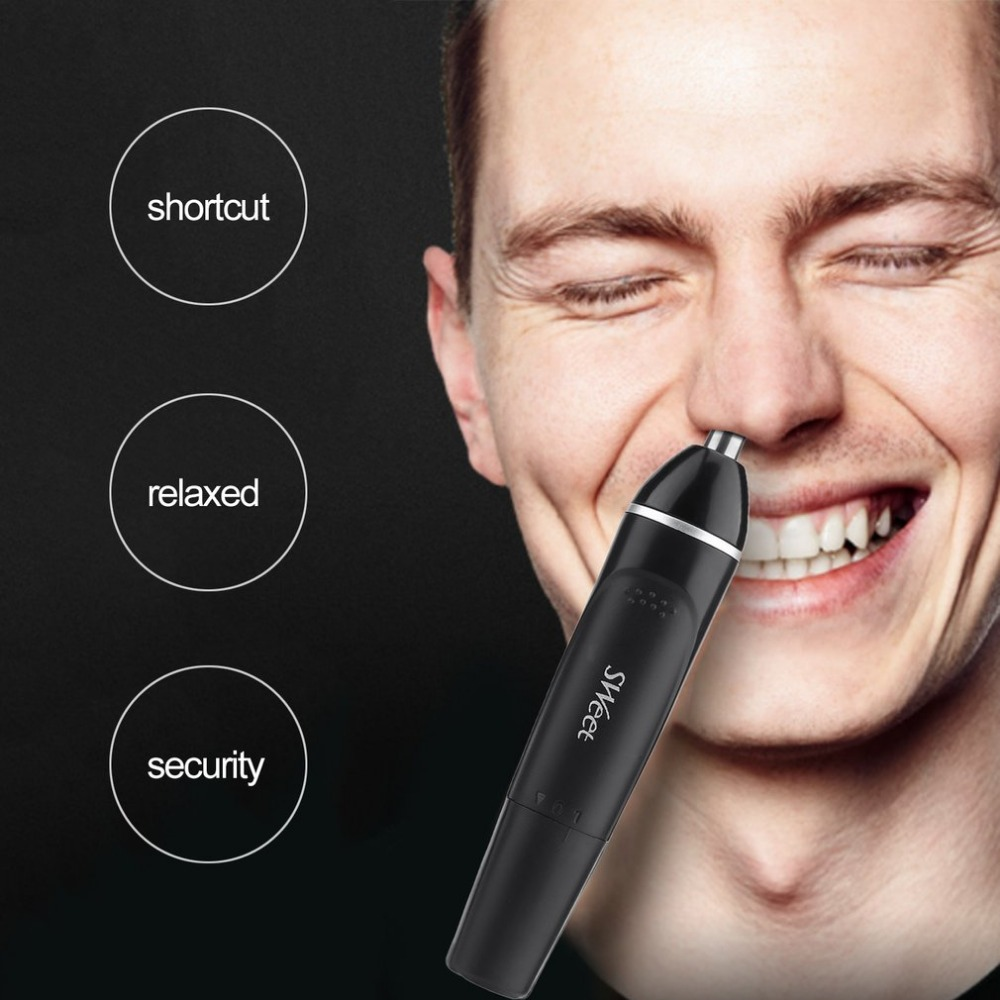 2 in 1Two-in-One Electric Moustache & Nose Trimmer Battery Ps