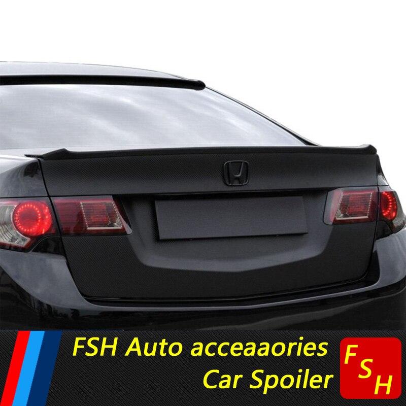 For Acura TSX ABS Spoiler 2009 2012 TSX Lip Spoiler High