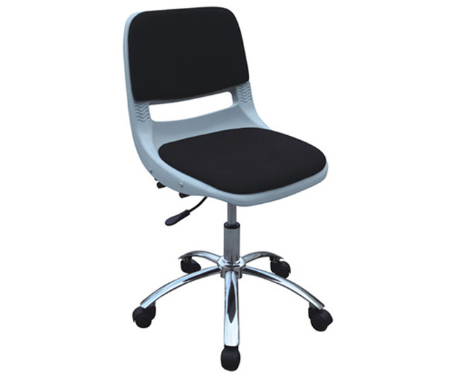 chrome office chair revolving it chair lecture hall staff chair