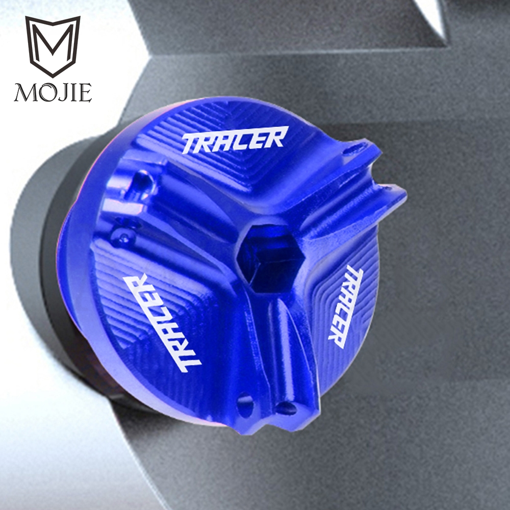 M20*2.5 Motorcycle Oil Drain Sump Plug Aluminum Engine Filler Tank Cap Cover Racing Bolts For YAMAHA TRACER 900 GT MT09 MT-09