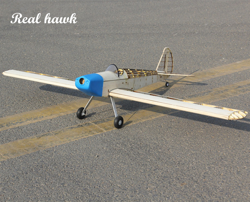 RC Plane Laser Cut Balsa Wood Airplane Kit 2.5cc(nitro) Wingspan 1000mm New Spacewal Frame without Cover Model Building Kit цена