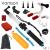 GoPro Acessórios Kit Grande Mergulho Extrema Suspensórios Esponja Floaty Bobber transparente monopé para go pro hero 4 3 + xiaomi yi VS11
