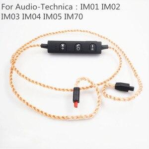 Image 4 - MMCXชุดหูฟังบลูทูธAdaterสำหรับShure SE215 SE535 SE846 UE900 Tf10 TF15 Sennheise Ie80 Ie8 28 Core Pureทองแดงลวด