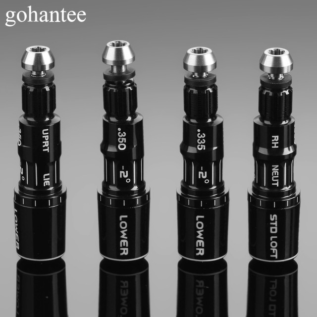 Golf Shaft Adapter Tips Grootte. 335 .350 + 2 Golf Shaft Adapter Sleeve Vervanging Voor M1 M2 Drivers En Fairway Woods