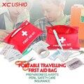 12 в 1 Первая Помощь Survival Kit Открытый Неотложной Медицинской пакет Мешок Спасения Жизни Аварийно-Спасательное Оборудование для Путешествий Поездки Безопасности инструмент