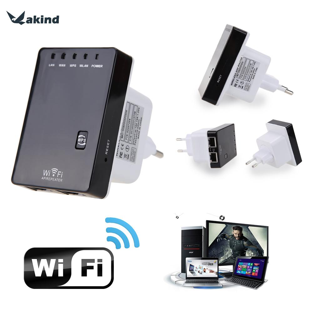 Router WiFi 300Mbps 802.11n / b / g 802.3 / 3u Rete Wi Fi Ripetitore WIFI Range Expander Booster Signal Booster Extender