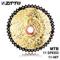 ZTTO 11 s 46 T SL L Zwart Goud MTB Mountainbike Fietsonderdelen 11 11 v 22 s 11 speed Freewheel Cassette voor XT K7 X1 X01 GX NX 1X