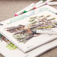 Premium 32 Sheets A4 Notebook Paper Marker Pad Marker Book Student Coloring Design for Sketch Cute Draw book School Art Supplies