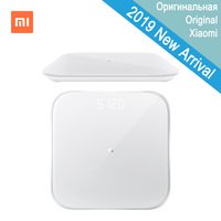 2019 New Xiaomi Smart Weighing Scale 2 Health Balance Bluetooth 5.0 Digital Weight Scale Support Android 4.3 iOS 9 Mifit App