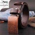 [DWTS] 2016 мужские дизайнерские ремни для мужчин бренд кожаный ремень гладкая пряжки бизнес ремень брюки ремешок ceinture cinturones