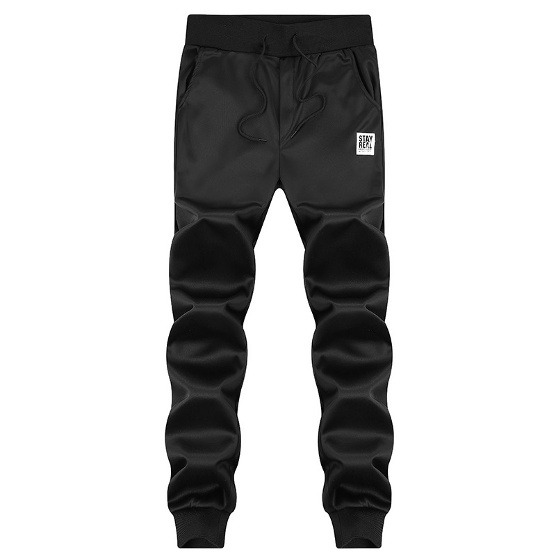 Spring Autumn Men Casual Joggers Pants 2018 Fashion Long Male Skinny Pencil Pants Elastic Waist Fitness Straight Sweatpants Men