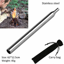 Camping Bellows Portable Fire Tool High Temperature Resistant Hiking Grill Fired Outdoor Picnic