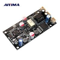 AIYIMA CSR8675 Wireless Bluetooth 5.0 Receiver Board ES9018 APTX HD I2S DAC Decoder Board DAC With Antenna Support 24Bit/96Khz
