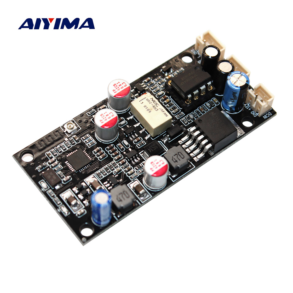 AIYIMA CSR8675 carte récepteur sans fil Bluetooth 5.0 ES9018 APTX-HD I2S carte de décodeur DAC avec Support d'antenne 24Bit/96 Khz
