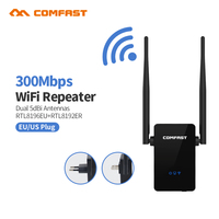Comfast WIFI Repeater Router 300M 10dBi Antenna Signal Booster Wireless N Wi Fi Repeater 802 11N
