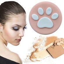 1pcs Cute Footprints Sponge Foundation Makeup Brush Powder Puff Brush