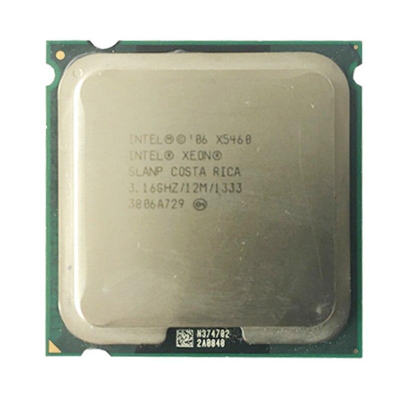 Origina INTEL XEON X5460 CPU 3.16GHz /12MB Cache /1333Mhz Quad Core X5460 Server Processor  Working Some 775 Socket Mainboard