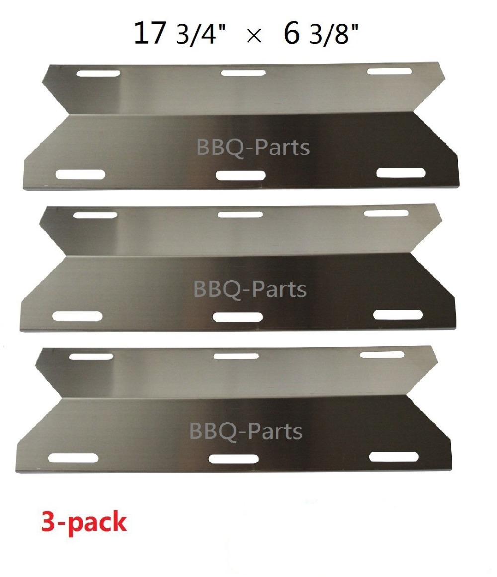 Us 34 99 Bbq Parts 91231 3 Pack Porcelain Steel Heat Shield Replacement For Costco Kirland Glen Canyon Jenn Air Nexgrill Sterling In Other Bbq