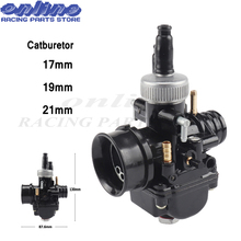 купить 17mm 19mm 21mm Dellorto DS Black Racing Carburetor Carb for PHBG DIO JOG 50cc 90cc BWS100 for Puch Yamaha Zuma Free shipping по цене 2279.59 рублей