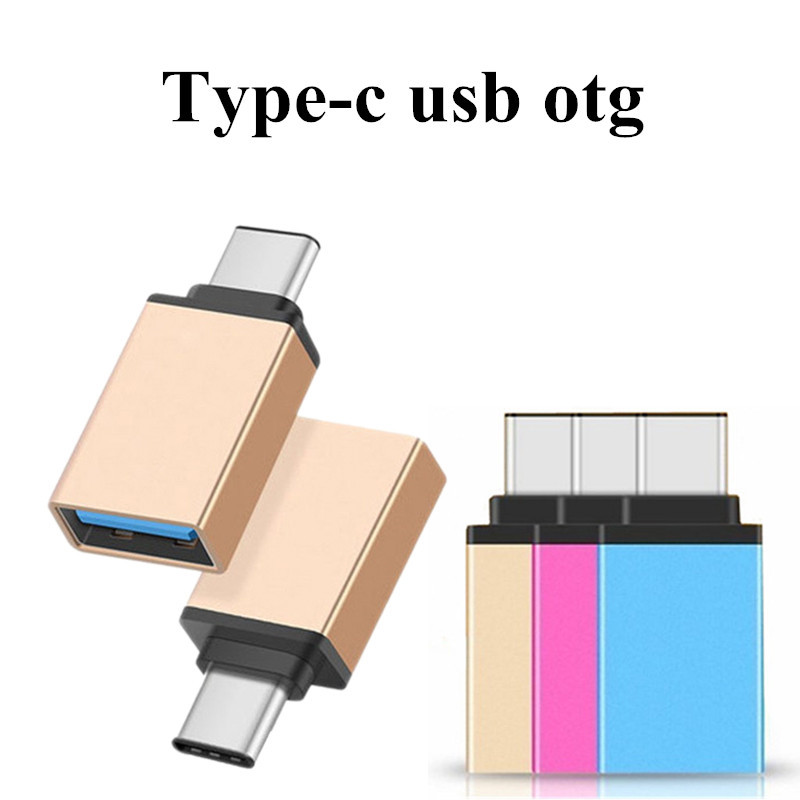 USB 3.0 Type-C USB Adapter Male To Female OTG Cable Adapter For Huawei Xiaomi 5 4C Macbook Nexus 6p USB-C Charger Converter