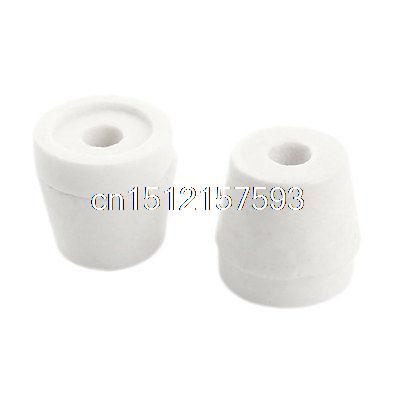 2PCS White 6mm Hole Dia Wire Tapered Ceramic Electrical Insulator AC250V 500C постельное белье ecotex постельное белье kids collection