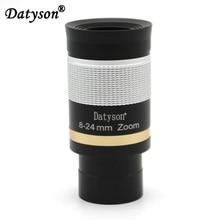 Datyson 1.25 Deluxe Zoom Telescope Eyepiece 8-24mm Fully Metal Goggles with FMC Broadband HD Green Film