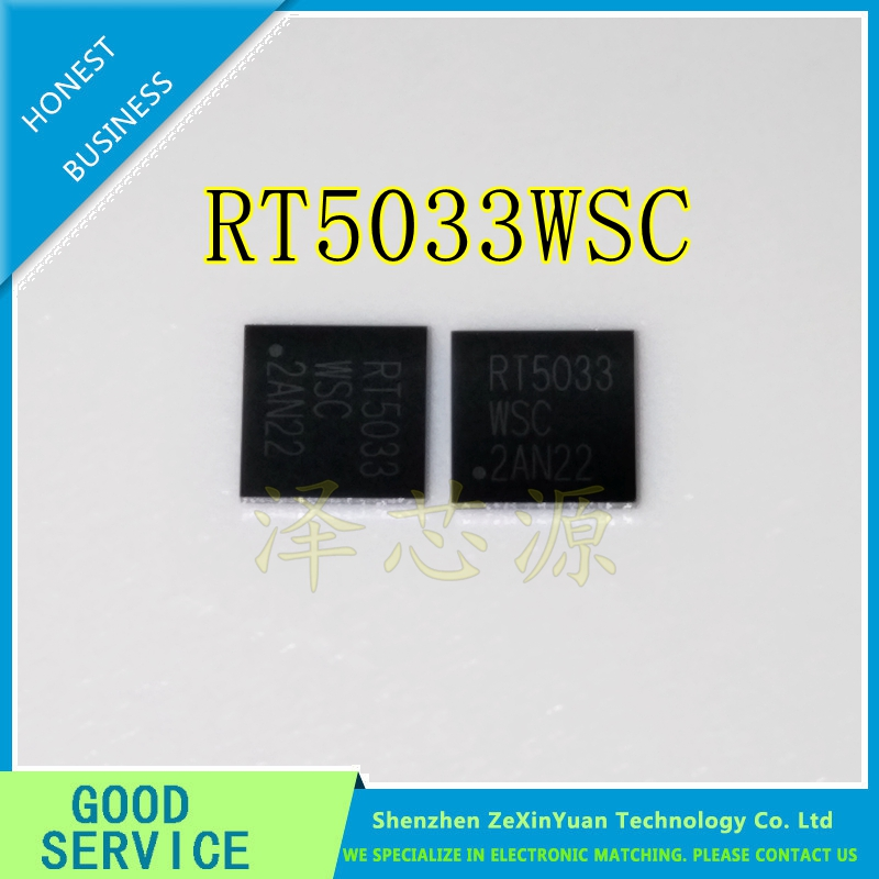 2PCS/LOT RT5033WSC RT5033 WSC BGA NEW IC