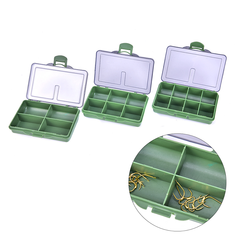 8/6/4 Compartments Fishing Tackles Box Tackle Storage Box for Fishing Accessories Carp Fishing Pesca Baits Lures hot sale(China)