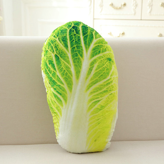 50cm Creative Simulation Vegetable Pillow Cushion Plush toys Nap Pillow Broccoli for Kid's Christmas gifts