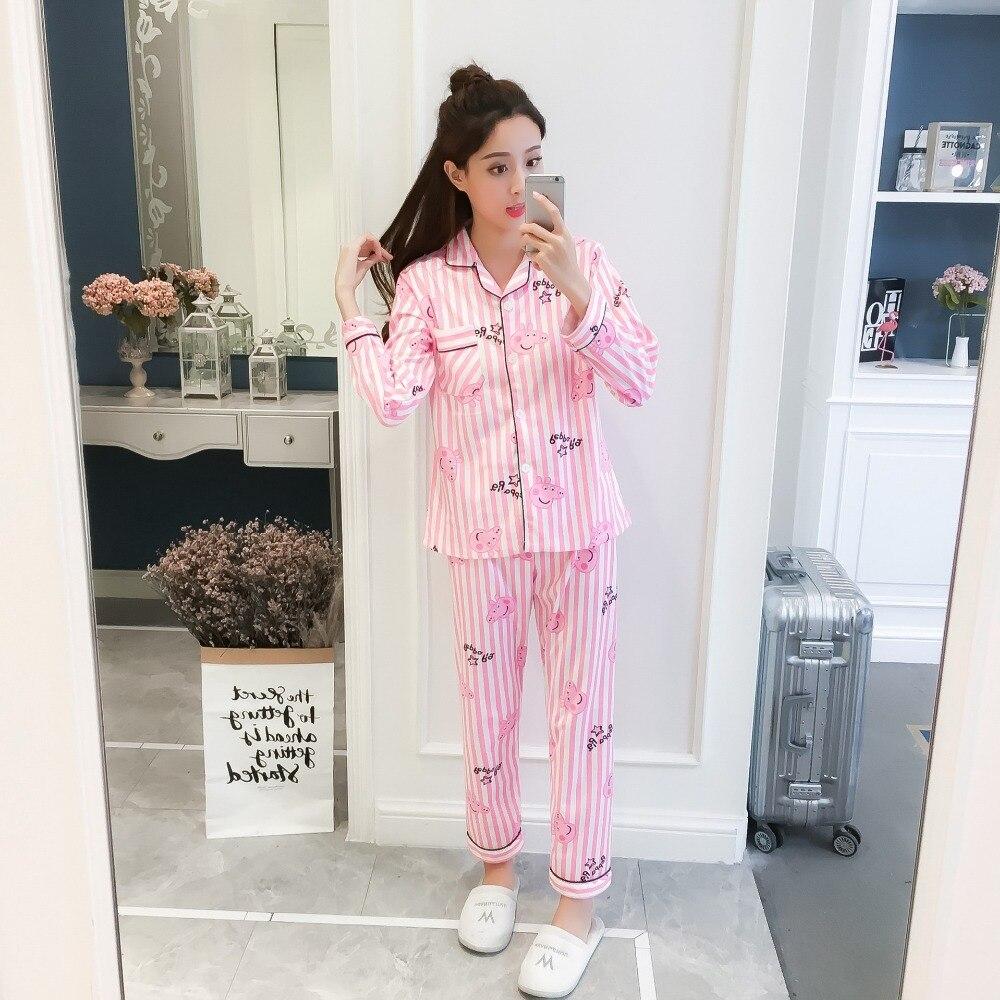 3ad6e8df6fce Lace Sleeve Women Silk Satin Pajamas Set Full length V Neck Sleepwear  Ladies Winter Fashion Pyjamas New Arrival Women Sleepwear-in Pajama Sets  from ...