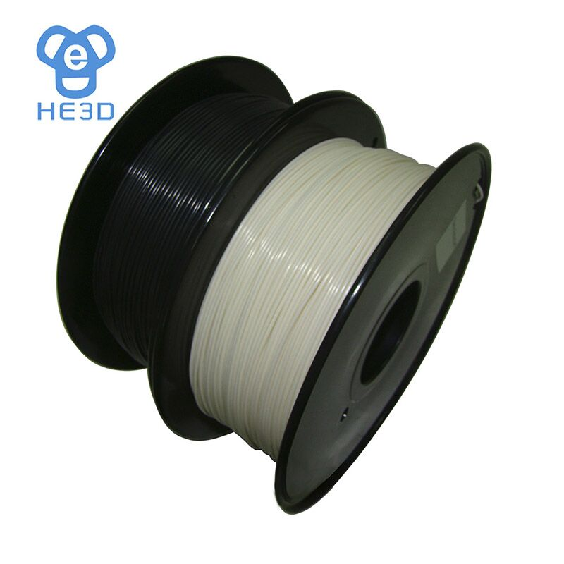 Filament d'abs ignifuge de filament spécial d'imprimante 3d 1.75mm 0.8 KG