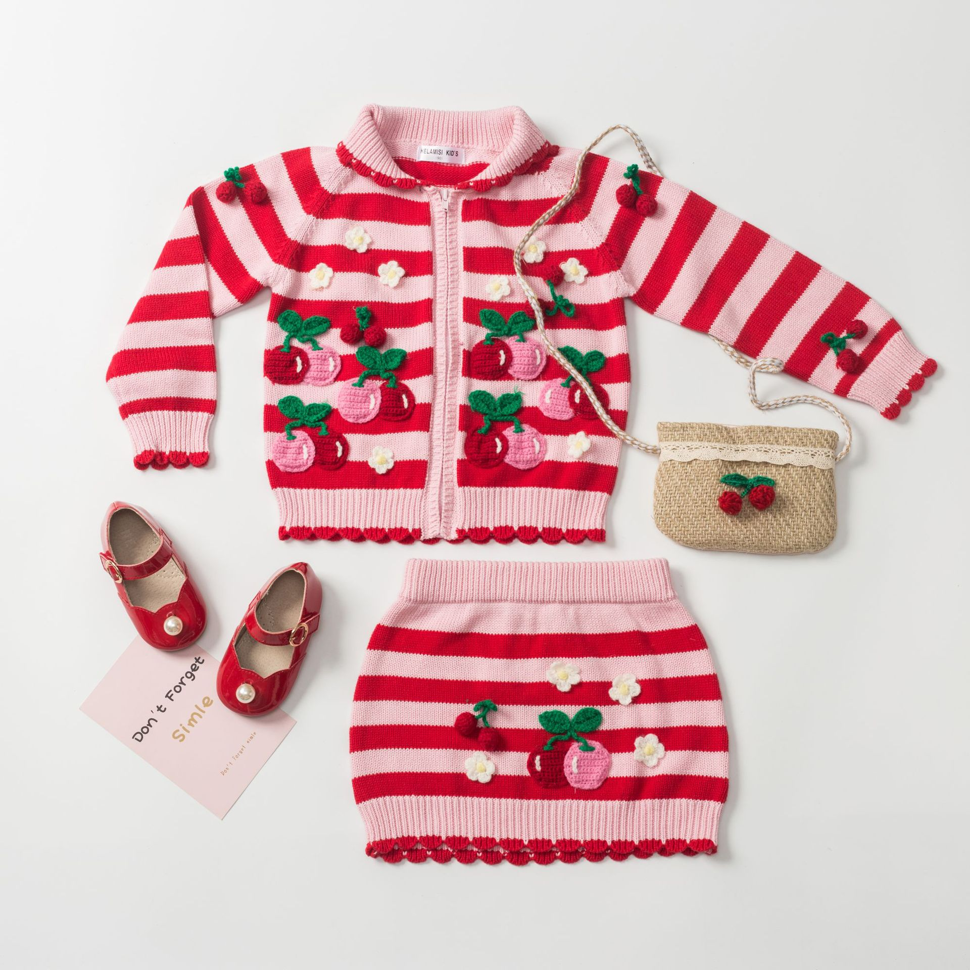 2 9t 2019 Autumn Cherry Girls Clothing Girls Boutique Outfits