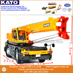 2019 New Arrive 1/50 Diecast Metal Construction Models for KATO SR250Ri Rough Terrain Crane Model Toys