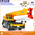 Venda quente 1:50 Modelo SR250Ri Áspero-Terreno Guindaste KATO Original Amarelo, Coleção, Réplica, carros de Brinquedo