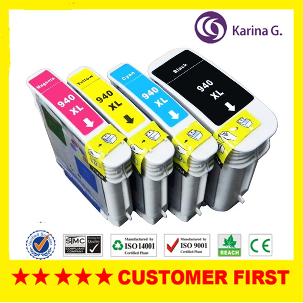 1 set For HP940 HP940XL ink cartridge compatible For HP 940 XL 940XL For HP