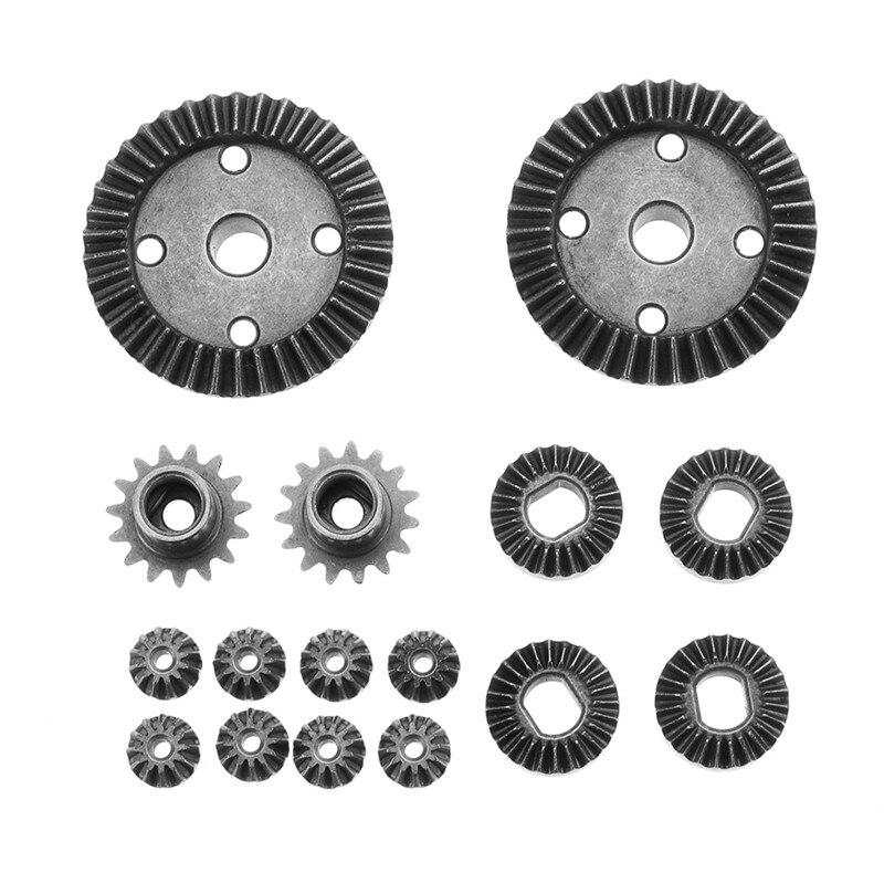 High Quality 16pcs Upgrade Parts Metal Gear 2 Sets For Wltoys 1/18 A949 A959 Rc Car Parts