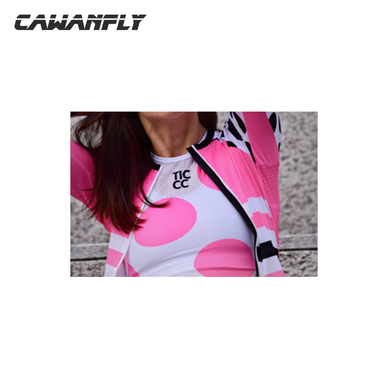 Cawanfly 100%Polyester 2018 Spring Womens Sports Running T Shirts Active Long Sleeves Low Collar Quick Dry Training Jersey