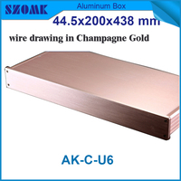 Rack 19 Inch Aluminum Junction Box Distribution Case Electronics Audio Rack 44 5 H X200 W