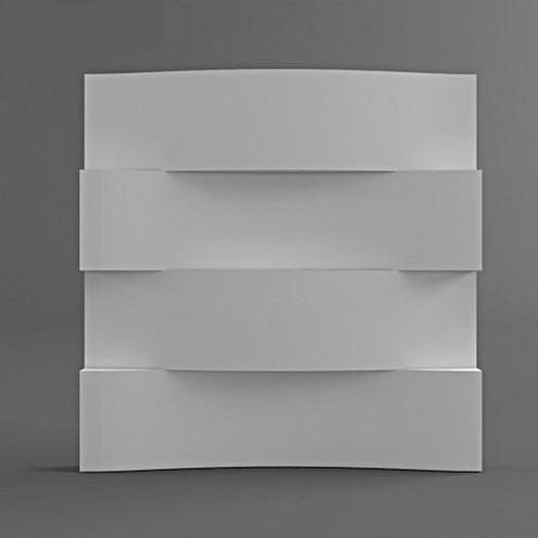 silicone concrete brick molds silicone mold for Plaster 3D Decorative Wall stone brick